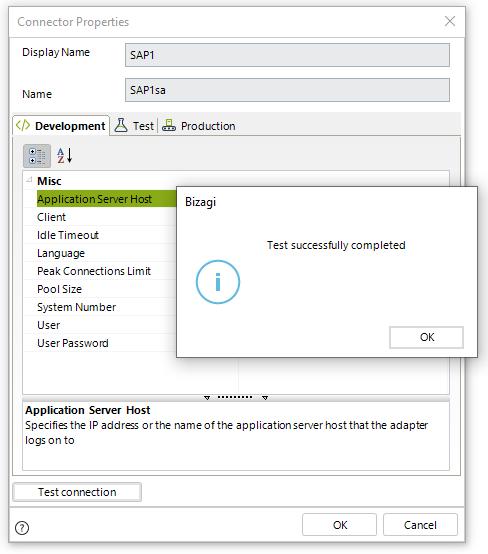 This image has an empty alt attribute; its file name is SAP_connectionButtonOK_Studio.png